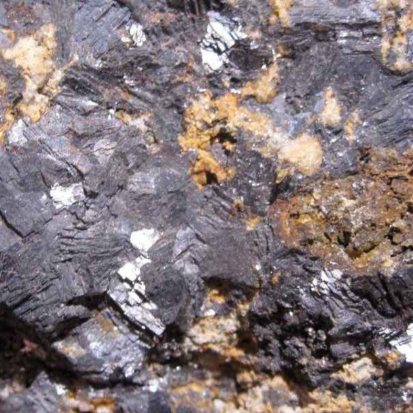 Galène et sidérite, La Croix aux Mines, Vosges.