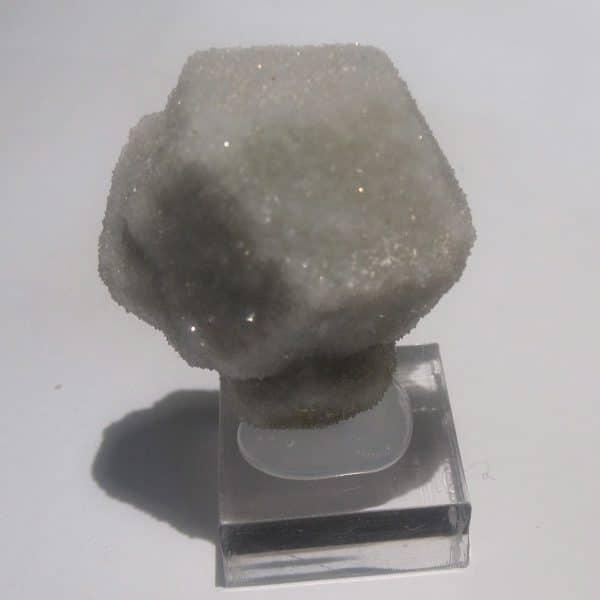 Quartz périmorphose de fluorite, Moustier-Ventadour, Corrèze.