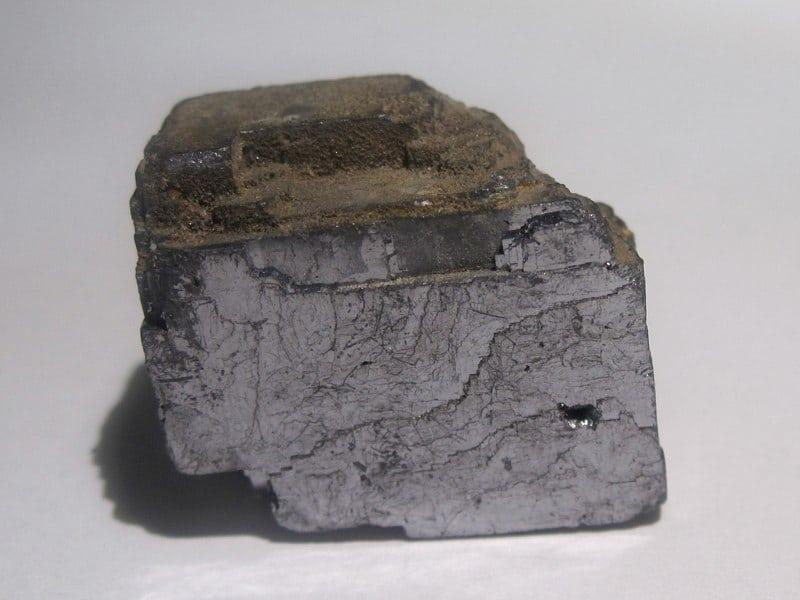 Galène, mine de Poullaouen, Finistère.