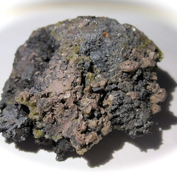 Bromargyrite et cérargyrite de Broken Hill, Australie.