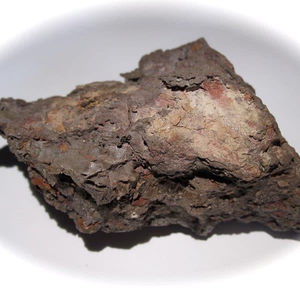 Cérargyrite, minerai d'argent de la mine de Caracoles, Chili.