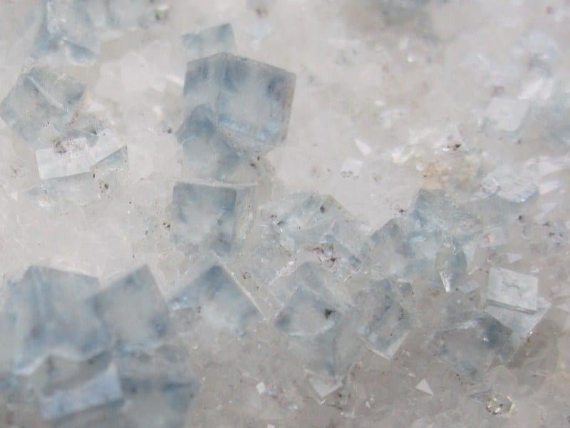 Fluorite, Fontsante mine, Var.