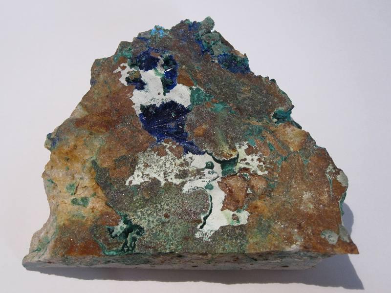 Minéraux de la mine de Cap Garonne (Var).