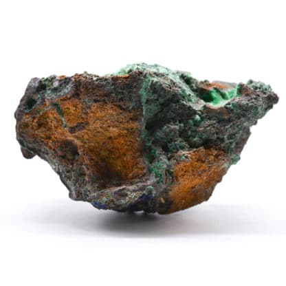 Malachite, halloysite, mine de Chessy, Rhône.