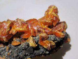 Orpiment, Quiruvilca Mine (La Libertad Mine; ASARCO Mine), Pérou.