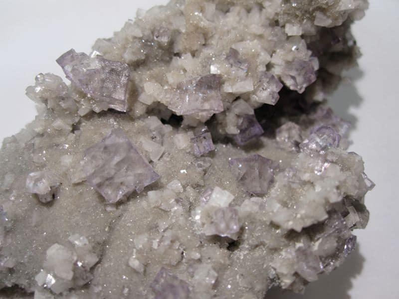 Fluorite et dolomite, Elmwood Mine, Smith Co., Tennessee, USA.