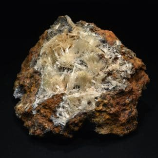 Scholzite, Reaphook Hill, Martins Well, Flinders Ranges, Australie.