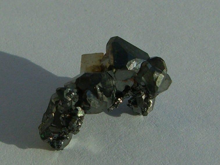 Tétraédrite de la mine de Jouchy, Saint-Pierre-de-Mésage, Isère.