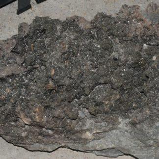 Cristaux de sphalérite de la mine de Saint-Laurent-le-Minier (Gard).