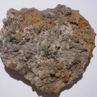 Chlorargyrite (Cérargyrite), Huelgoat, Finistère, Bretagne.