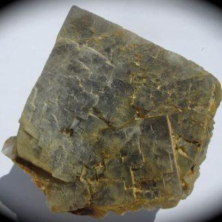 Fluorine, mine des Sausses à Chavaniac-Lafayette, Haute-Loire.
