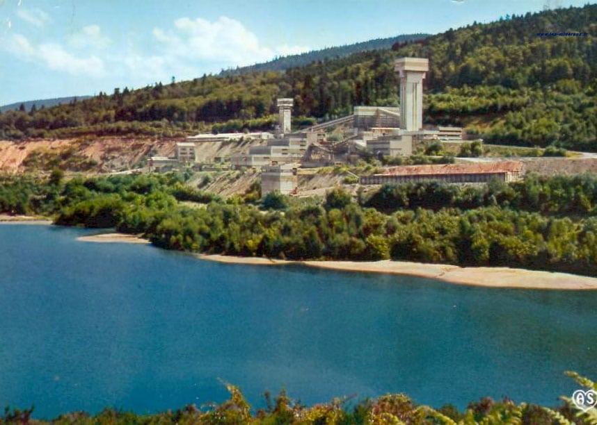 Mine d'uranium de Saint-Priest-la-Prugne.