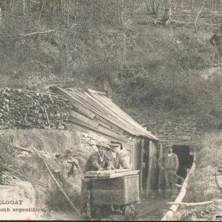 La mine de plomb argentifère d'Huelgoat.