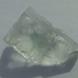 Fluorine bleu vert de Montroc ou Mont-Roc (Tarn, France).