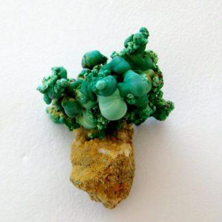 Formation botryoïde de malachite de Bouche-Payrol à Brusque.