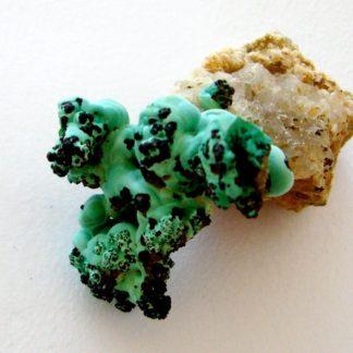 Concrétions de malachite verte de Bouche Payrol