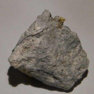 Or de la mine de Laurièras en Haute-Vienne (Limousin).