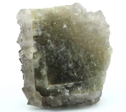 Cristaux de quartz sur fluorite de la mine de Maxonchamp (Vosges)