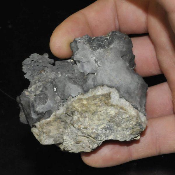 Arsenic natif du filon Saint-Jacques à Sainte-Marie-aux-Mines.