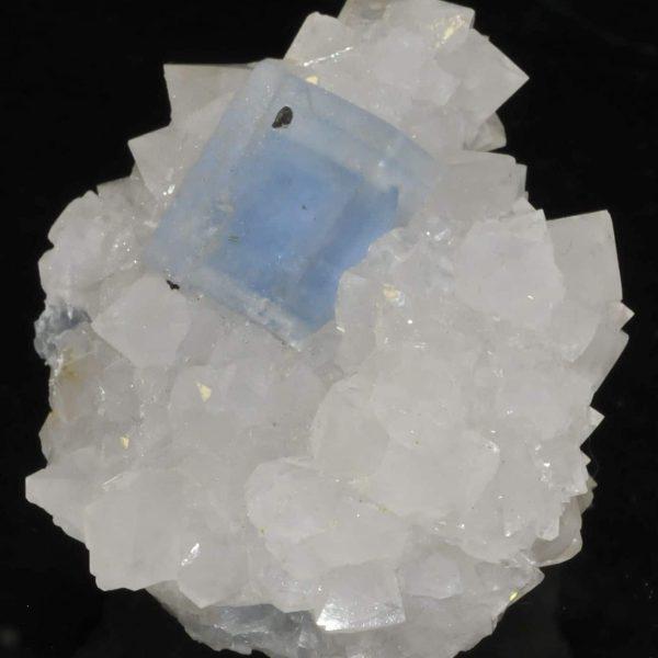 Fluorite bleue du Burc (Burg - Tarn).Fluorite bleue du Burc (Burg - Tarn).