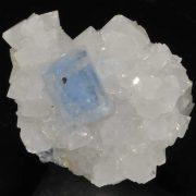 Fluorite bleue du Burc (Burg - Tarn).