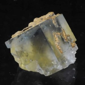 Fluorite jaune et bleue de la mine du Burc (au Burg - Tarn).