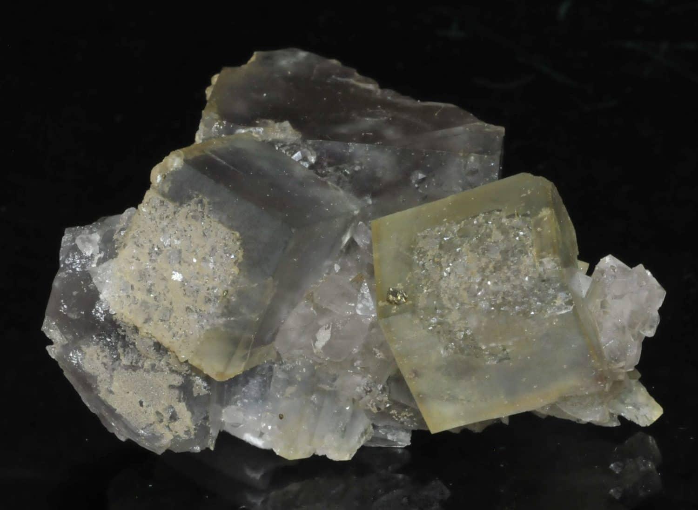 Fluorine de la mine du Burc (Burg - Tarn).