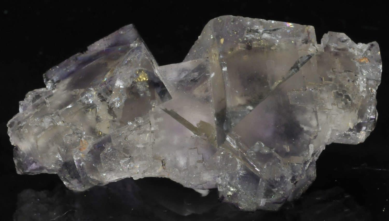 Fluorite avec cristaux à fantômes d'Elmwood (Tennessee - USA).