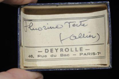 Fluorine verte de l'Allier (ex Deyrolle).