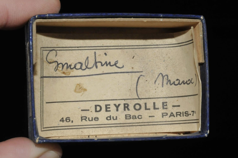 Smaltine (smaltite) du Maroc (ex Deyrolle).