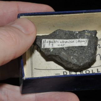 Magnétite du Maroc (ex Deyrolle).