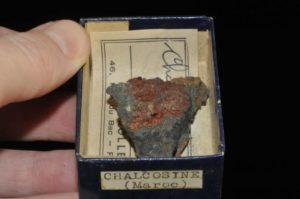 Chalcocite du Maroc (ex Deyrolle).