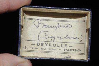 Barytine du Puy de Dôme (ex Deyrolle).