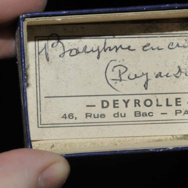 Barytine du Puy de Dôme en Auvergne (ex Deyrolle).