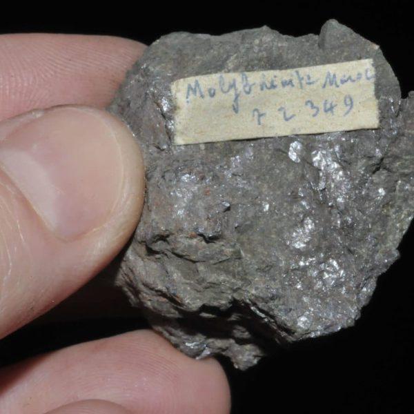 Molybdénite du Maroc (ex Deyrolle).