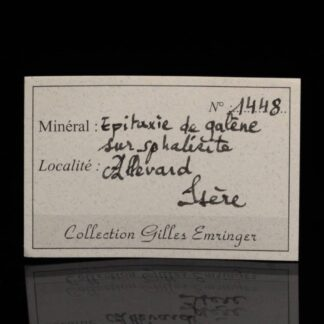 Minéraux de la collection Gilles Emringer