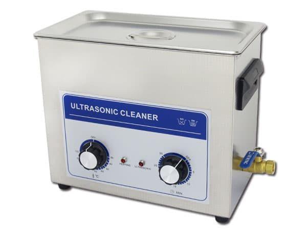 Bac à ultrasons 6 litres pour minéraux et cristaux.