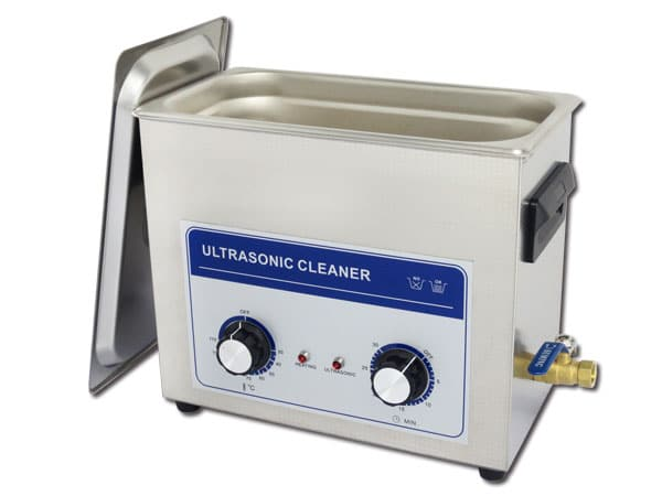 Cuve à ultrasons 6 litres pour minéraux et cristaux.