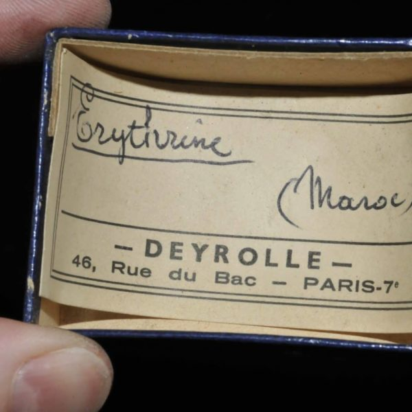 Érythrite du Maroc (ex Deyrolle).