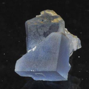 Fluorine bleue de la mine de Mont-Roc (Tarn).