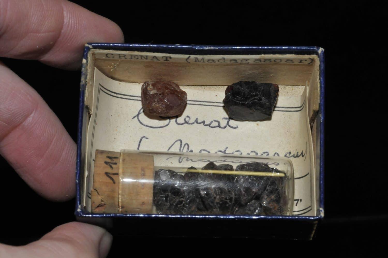 Grenat pyrope de Madagascar (ex Deyrolle).