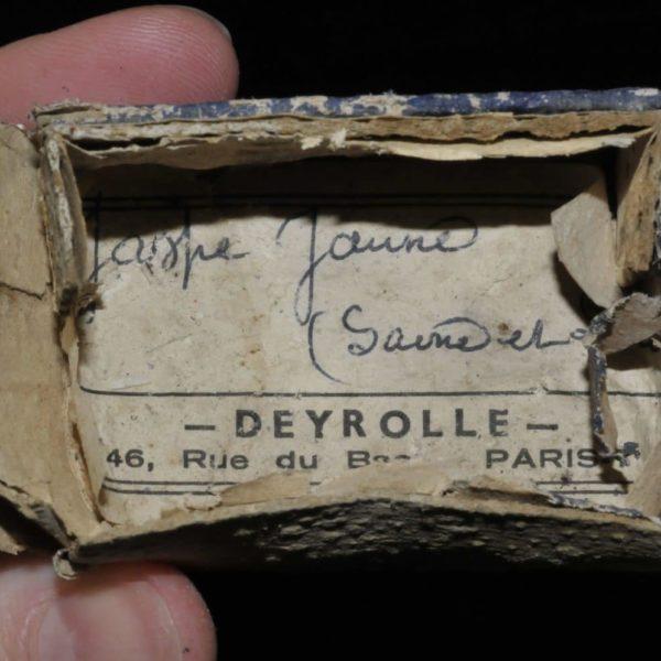 Jaspe jaune de Saône et Loire (ex Deyrolle).