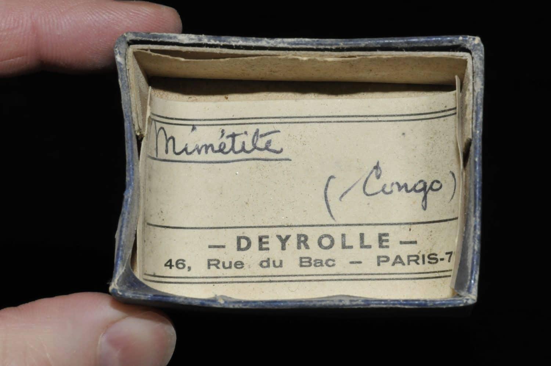 Mimetite du Congo (ex Deyrolle).