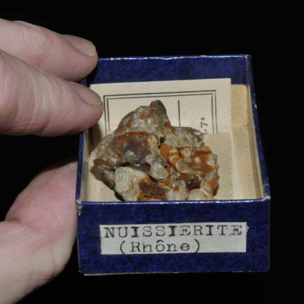 Nuissièrite (pyromorphite) du Rhône.