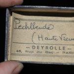 Pechblende de Haute-Vienne en Limousin (ex Deyrolle).