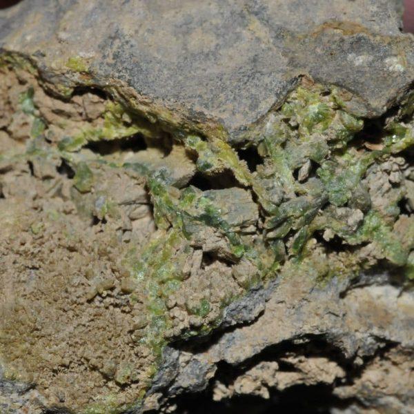 Pyromorphite du Cumberland (Royaume-Uni, ex Deyrolle).