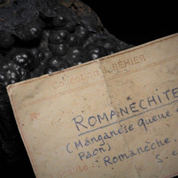 Romanéchite de Romanèche-Thorins (Saône-et-Loire).