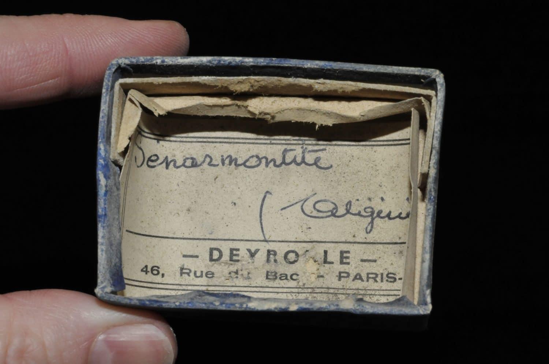 Senarmontite d'Algérie (ex Deyrolle).