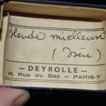 Sphalérite (blende) miel, probablement de La Mure (ex Deyrolle).