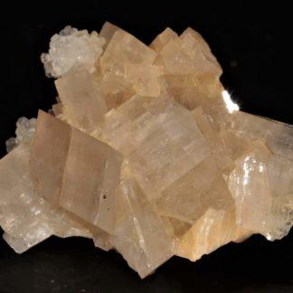 Calcite sur dolomite de la mine de Saint-Pierre-de-Mésage, Isère.